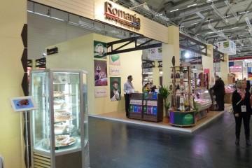 Pavilionul national al Romaniei la Targul International Anuga - Targ de produse alimentare Koln