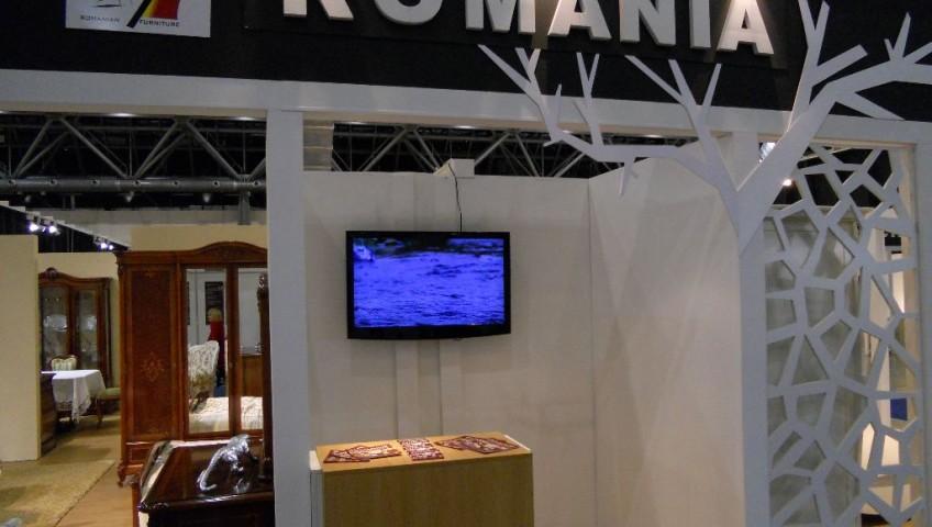 Pavilionul national al Romaniei la Targul International MEBEL Targ de mobilier si decoratiuni Moscova
