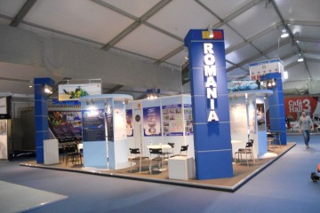 "Pavilion Romania Targul International "" AIRSHOW "", Farnborough / Londra - Marea Britanie"