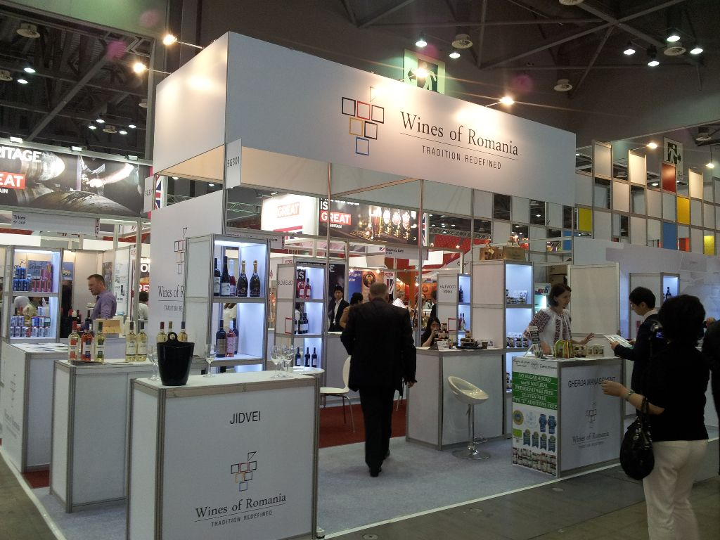 Romanian Pavilion at International Fair Food Expo Seoul - TRADE SHOWS